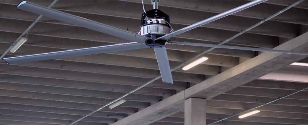 Déstratificateur électrique gigantesque plafond connexion IP